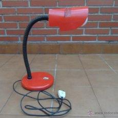Vintage: LAMPARA DE SOBREMESA FLEXIBLE MARCA FASE MEDIADOS DE LOS 70. Lote 54290412