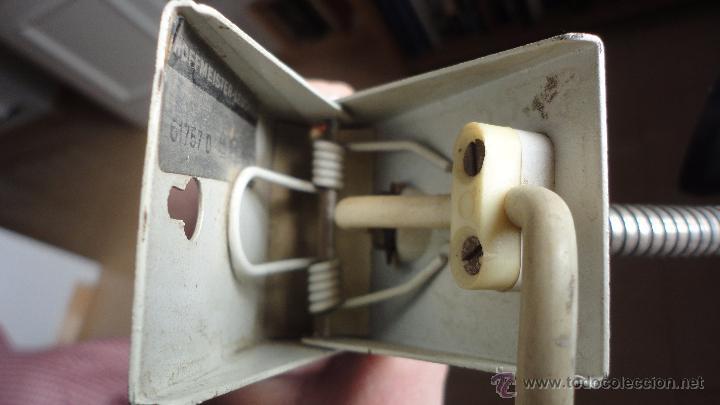 Vintage: LAMPARA FLEXO DE PINZA.DISEÑO ALEMAN.HOFFMEISTER-LEUCHTEN.RETRO VINTAGE.AÑOS 60,70 - Foto 16 - 54864248
