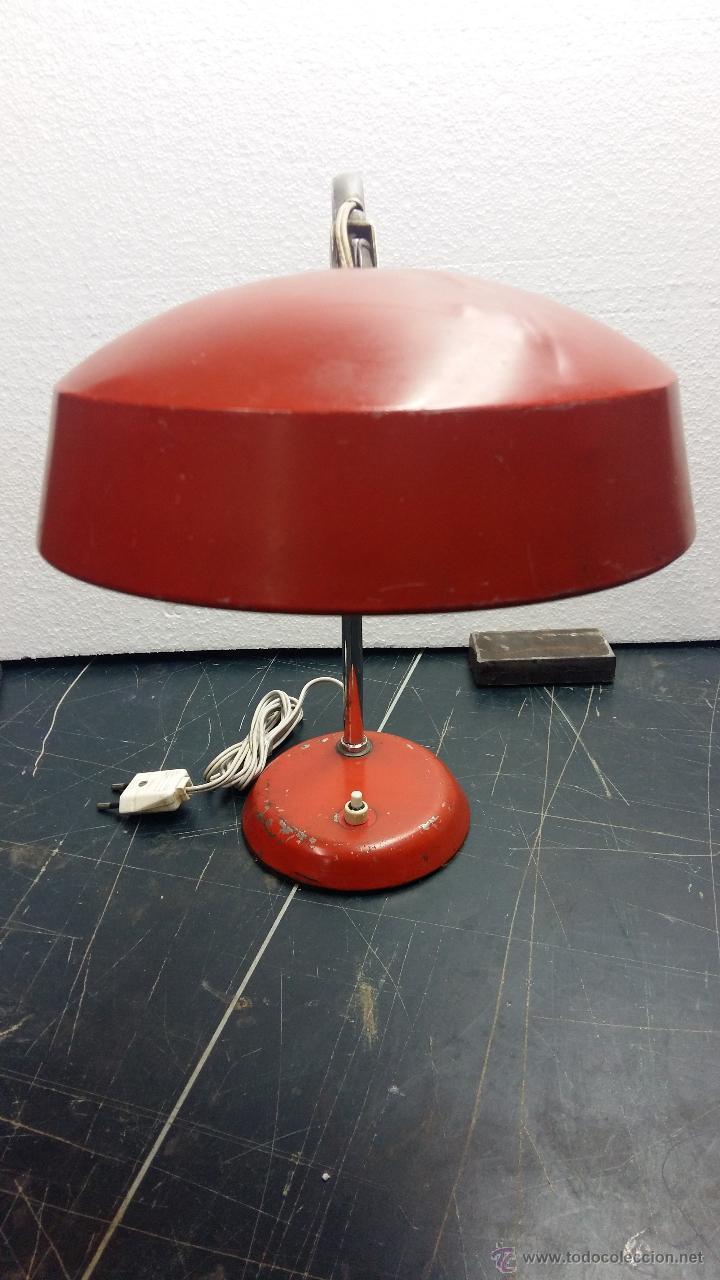 Vintage: LAMPARA SOBREMESA, AÑOS 50. - Foto 2 - 54909249