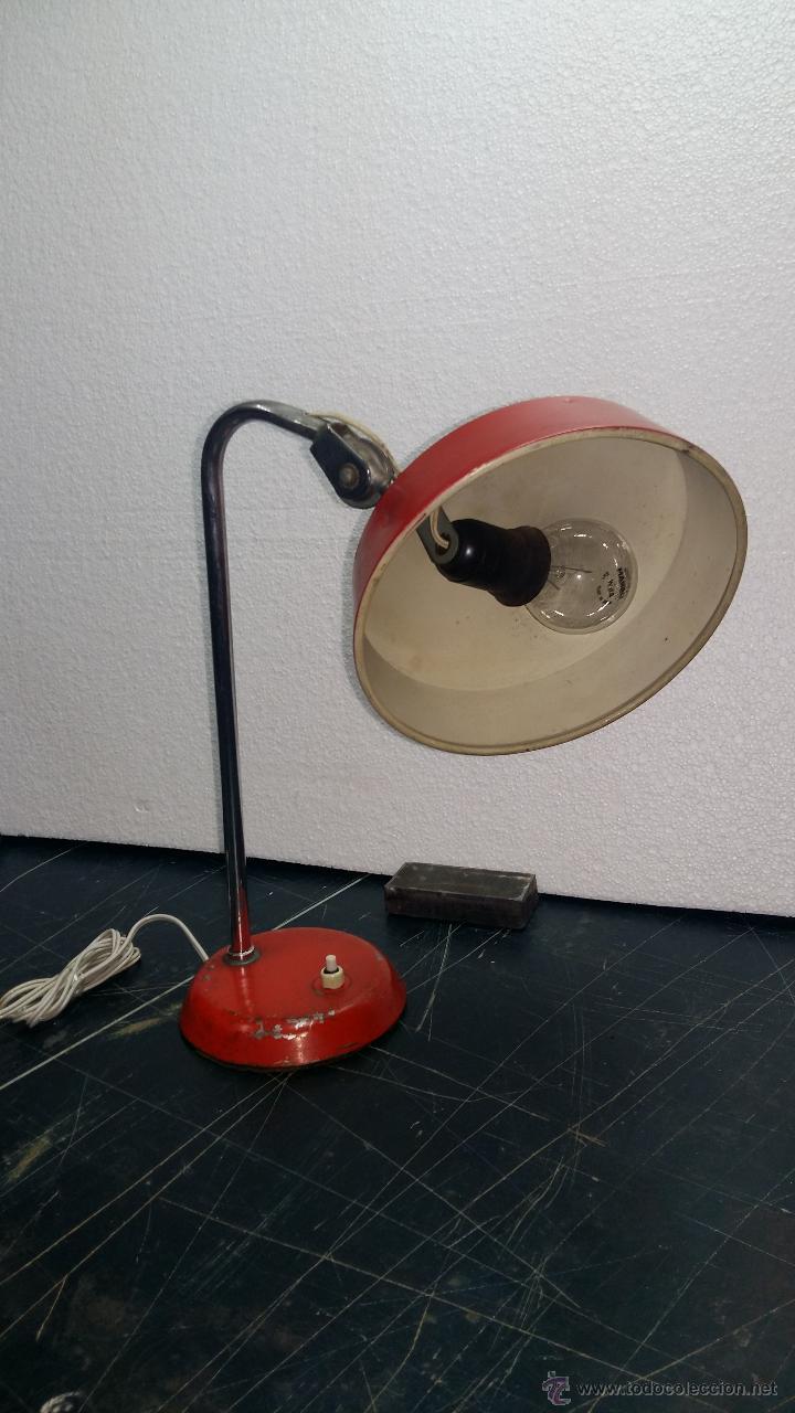 Vintage: LAMPARA SOBREMESA, AÑOS 50. - Foto 3 - 54909249