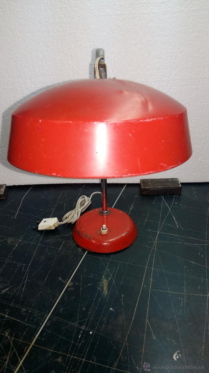 Vintage: LAMPARA SOBREMESA, AÑOS 50. - Foto 4 - 54909249