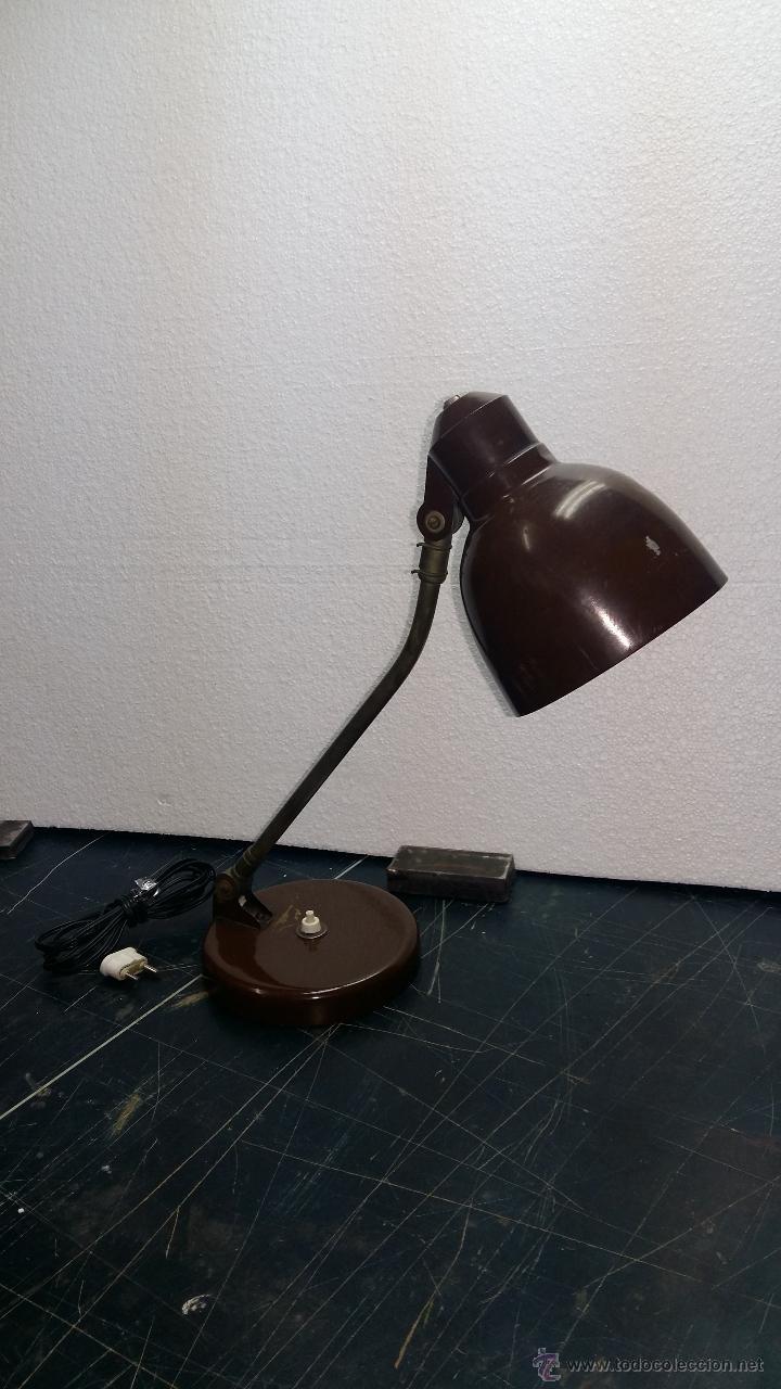 Vintage: LAMPARA SOBREMESA, AÑOS 50. - Foto 3 - 54909317