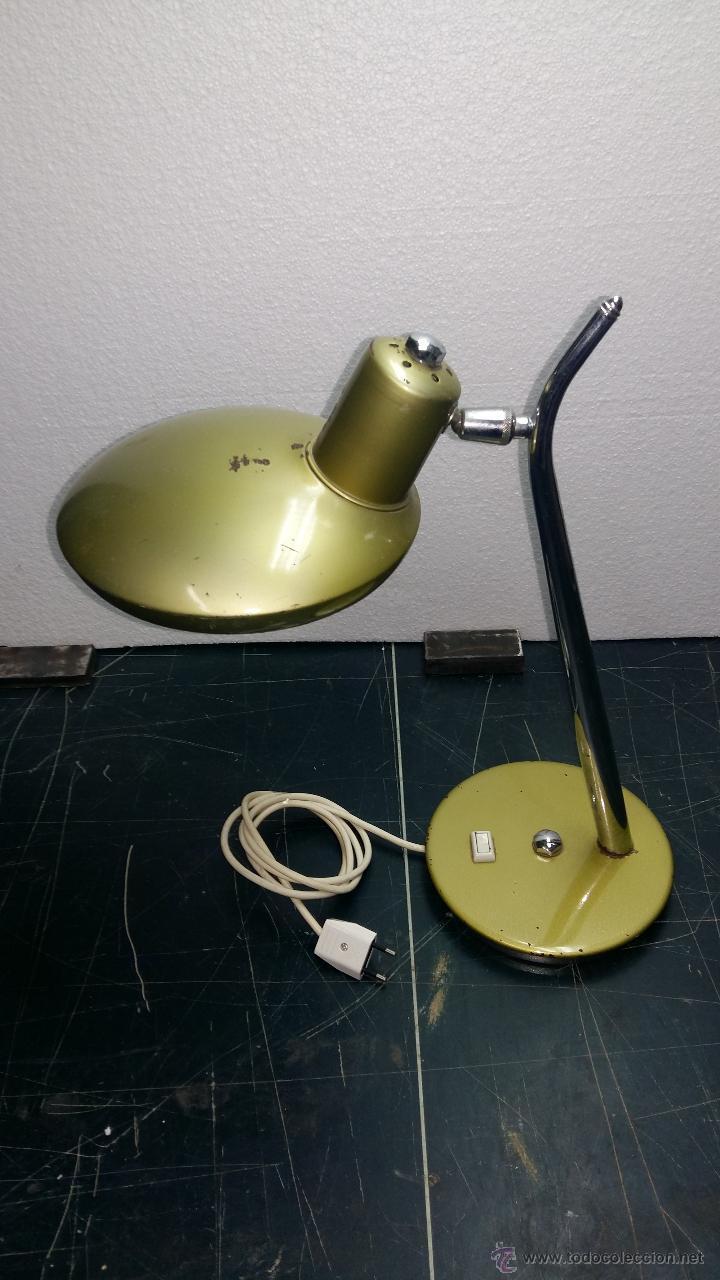 Vintage: LAMPARA SOBREMESA, AÑOS 50-60 - Foto 2 - 54909809