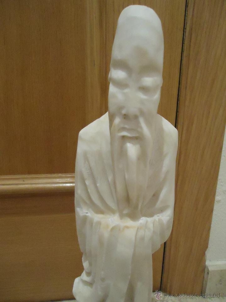 Vintage: gran figura de lampara marmol o alabastro - Foto 2 - 54911946