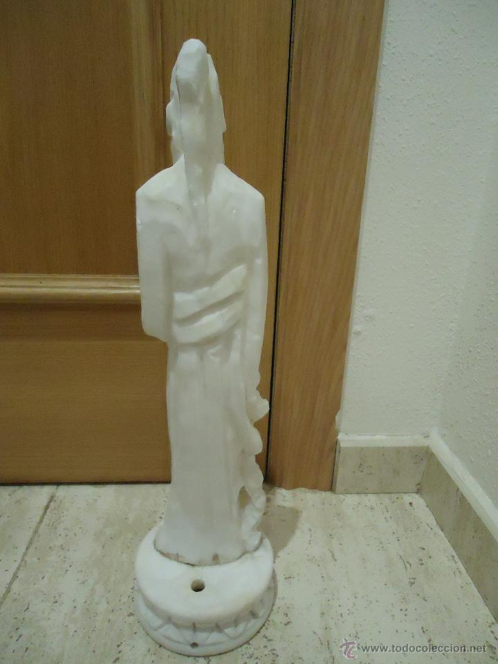 Vintage: gran figura de lampara marmol o alabastro - Foto 4 - 54911946