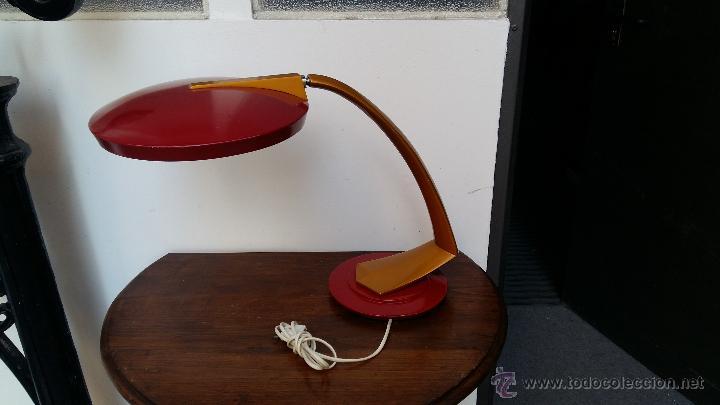 LAMPARA FASE BOOMERANG 2000 (Vintage - Lámparas, Apliques, Candelabros y Faroles)