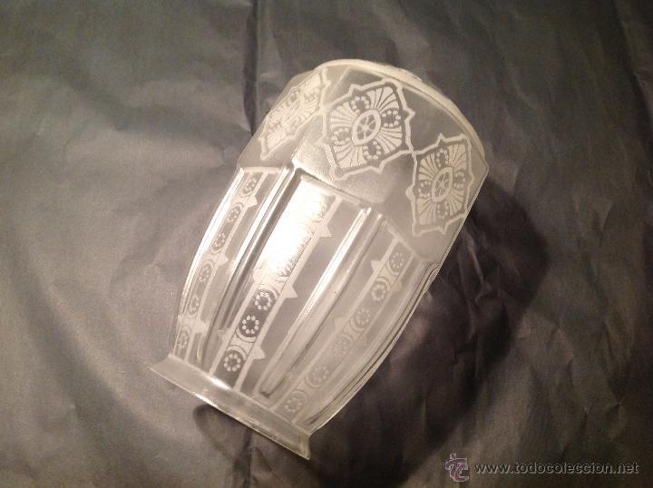 TULIPA DE CRISTAL 18*8 CM BOCA (Vintage - Lámparas, Apliques, Candelabros y Faroles)