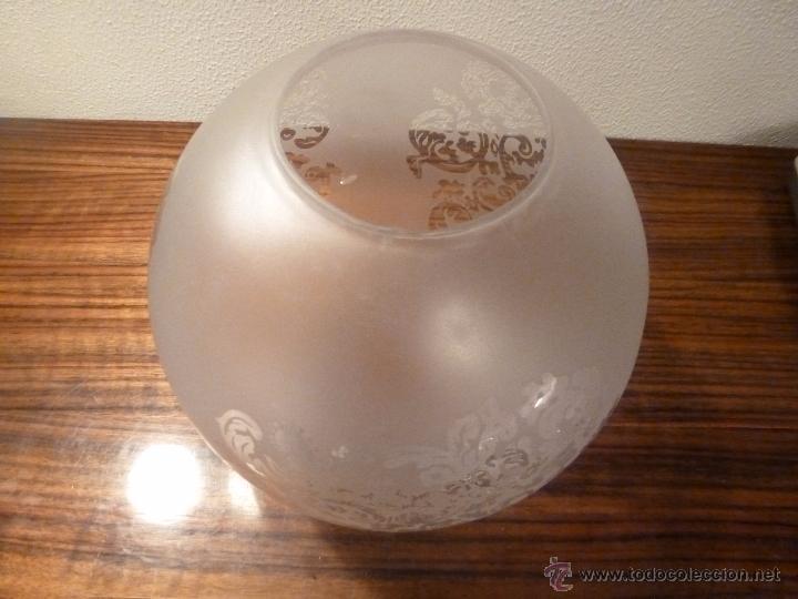 Vintage: TULIPA CRISTAL 25*25 7.8cm boca - Foto 4 - 55023660