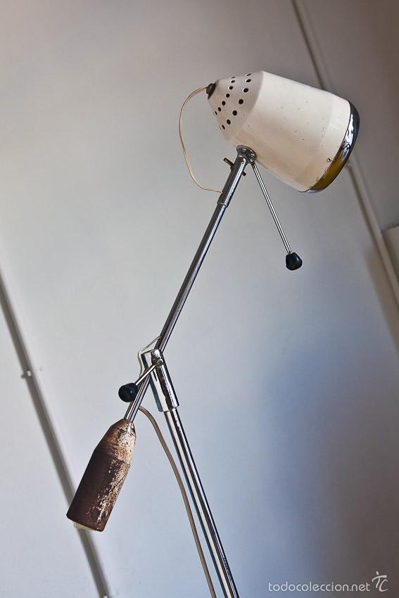 Vintage: Lámpara de pie de exploración médica - España, años 70 - Foto 3 - 55242090