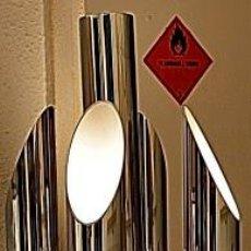 Vintage: LAMPARA SUELO FASE GRIN LUZ -SPACE AGE-LAMPARA GRIN LUZ DISEÑA LUIS PEREZ DE LA OLIVA. Lote 55373910