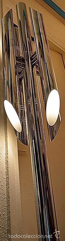Vintage: LAMPARA SUELO FASE GRIN LUZ -SPACE AGE-LAMPARA GRIN LUZ DISEÑA LUIS PEREZ DE LA OLIVA - Foto 2 - 55373910