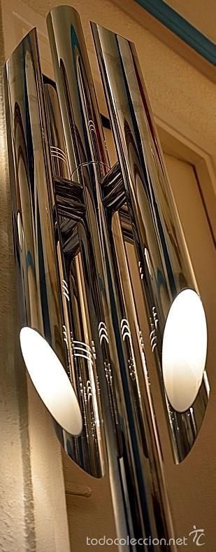 Vintage: LAMPARA SUELO FASE GRIN LUZ -SPACE AGE-LAMPARA GRIN LUZ DISEÑA LUIS PEREZ DE LA OLIVA - Foto 3 - 55373910