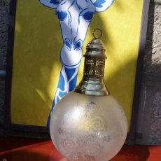 Vintage: GRAN LAMPARA GLOBO VINTAGE. Lote 55393374