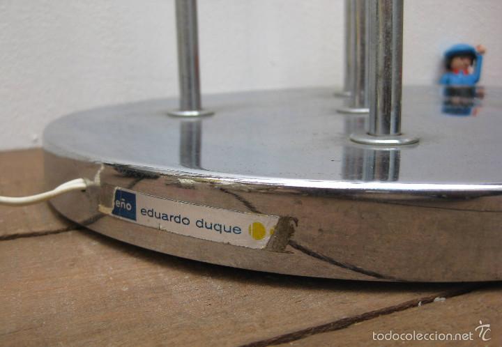 Vintage: LAMPARA DISEÑO ESPAÑOL AÑOS 60 ESTUDIOS DG MADRID EDUARDO DUQUE 5 FOCOS ORIENTABLES EYEBALL - Foto 6 - 55571069
