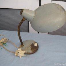 Vintage: LÁMPARA DE SOBREMESA INDÚSTRIAL FLEXO. Lote 55719328