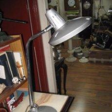 Vintage: LAMPARA DE MESA FASE FARO COLOR GRIS. Lote 55994036