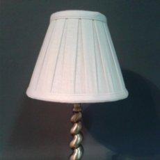 Vintage: LAMPARA DE SOBREMESA PANTALLA NUEVA. Lote 56283632
