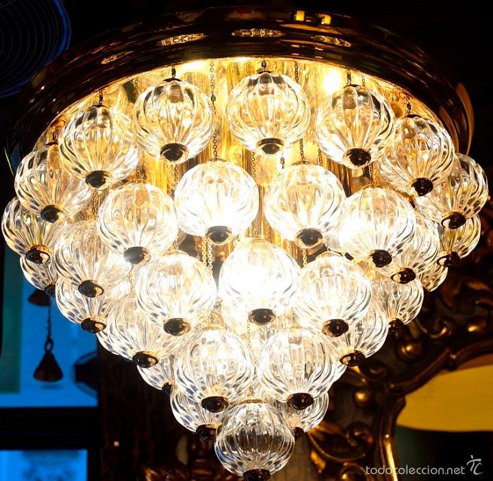 Lampara techo tipo chandelier bolas cristal comprar lmparas lampara techo tipo chandelier bolas cristal aloadofball Choice Image