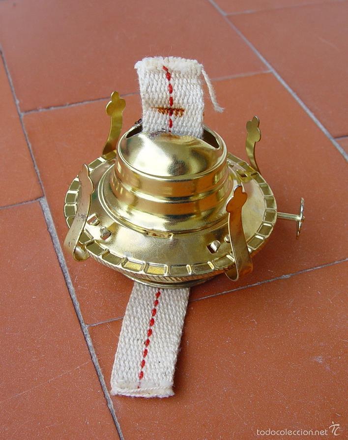 QUEMADOR PARA QUINQUÉ...QUINQUE....SANNA (Vintage - Lámparas, Apliques, Candelabros y Faroles)