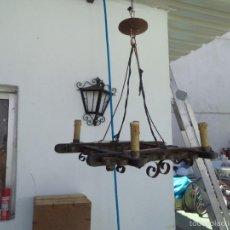 Vintage: LAMPARA RUSTICA. Lote 56488179