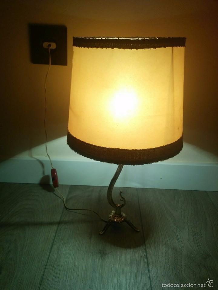 LAMPARA ANTIGUA (Vintage - Lámparas, Apliques, Candelabros y Faroles)