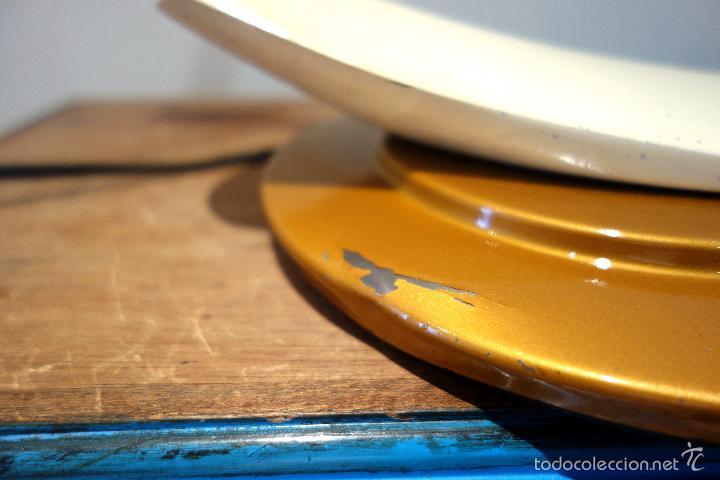 Vintage: Lámpara vintage Fase Boomerang 2000 o arco dorada completa con difusor despacho - Foto 5 - 56560139