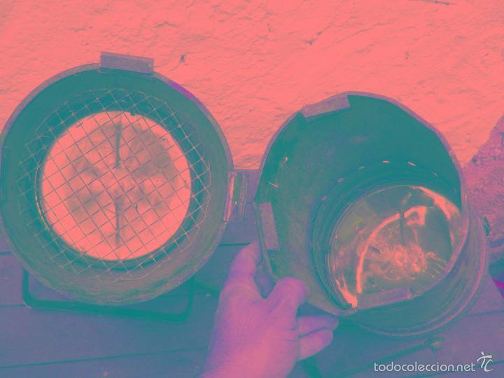 Vintage: 2 FOCOS PAREJA CINE TEATRO O SIMILAR IDEAL LAMPARAS , LAMPARA INDUSTRIAL APLIQUE - Foto 3 - 56830925