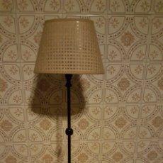 Vintage: LAMPARA DE SOBREMESA, 65CM DE ALTURA. Lote 56928423