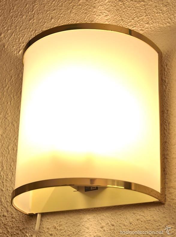 APLIQUE PARED METALARTE (Vintage - Lámparas, Apliques, Candelabros y Faroles)