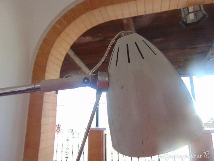 Vintage: LAMPARA DE PIE, CLINICA MEDICO O SIMILAR FABRICADO POR AGI IMSA VALENCIA - Foto 14 - 57050632