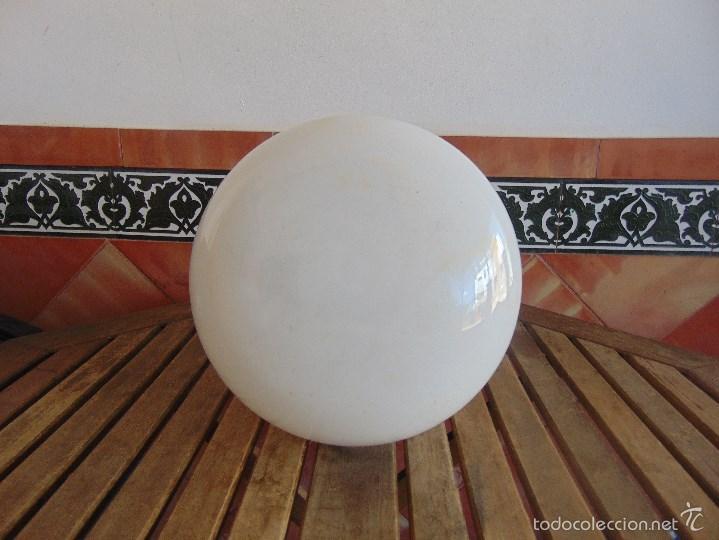 Vintage: LAMPARA DE TECHO CON GRAN TULIPA GLOBO DECORACION 4 ESCENAS DE LA PANTERA ROSA - Foto 7 - 57179504
