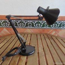 Vintage: LAMPARA DE SOBREMESA DE LA MARCA FASE NEGRA. Lote 57314344