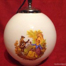 Vintage: LAMPARA GLOBO VINTAGE. Lote 57444722
