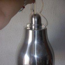 Vintage: LAMPARA VINTAGE FOCO DE ESTILO INDUSTRIAL ESTILO IKEA ALUMINIO CROMADO AÑOS 90 MODELO TAKTER. 41 CM. Lote 57492845