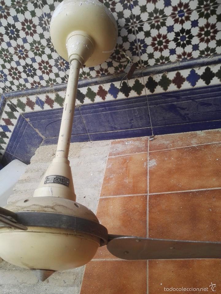 Vintage: ventilador antiguo - Foto 3 - 57632319