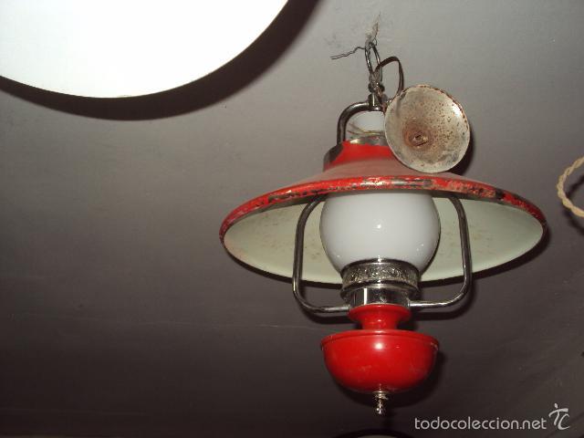 Vintage: Lámpara vintage - Foto 2 - 57742051