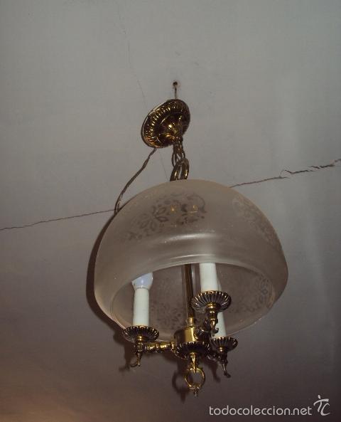 LÁMPARA AÑOS 70 (Vintage - Lámparas, Apliques, Candelabros y Faroles)