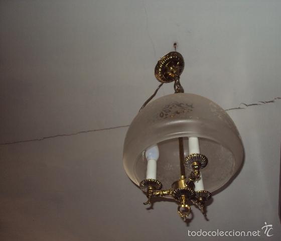 Vintage: Lámpara años 70 - Foto 2 - 57743006
