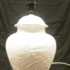 Vintage: LAMPARA TIBOR DE PORCELANA. Lote 57771676