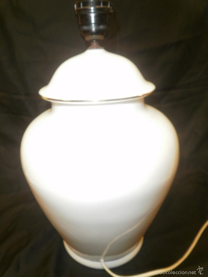 Vintage: LAMPARA TIBOR DE PORCELANA - Foto 4 - 57771676