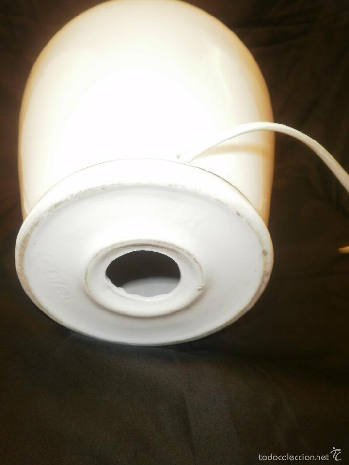Vintage: LAMPARA TIBOR DE PORCELANA - Foto 5 - 57771676