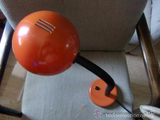 Vintage: VINTAGE LAMPARA DE ESTUDIO COLOR NARANJA - Foto 2 - 57982848