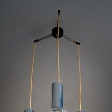Vintage: LAMPARA DE TECHO NORDICA ESCANDINAVA CRISTAL DISEÑO NORDICO TRANSPORTE GRATIS COMUNIDAD DE MADRID. Lote 58196504