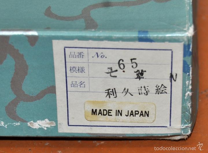 Vintage: BONITA LAMPARA DE PAPEL JAPONESA PINTADA A MANO - Foto 4 - 58275552
