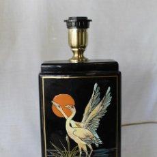 Vintage: PIE DE LAMPARA EN CERAMICA . Lote 58286709