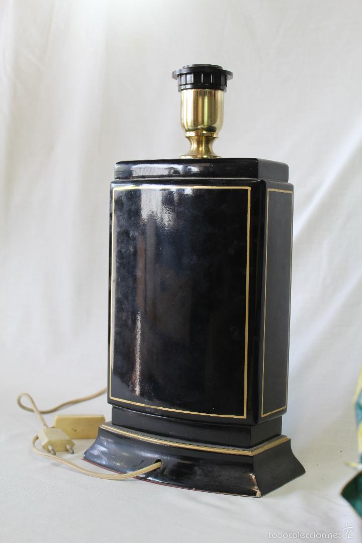 Vintage: pie de lampara en ceramica - Foto 3 - 58286709