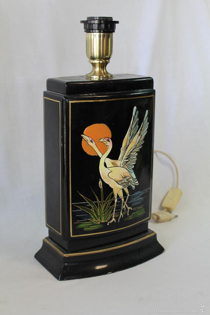 Vintage: pie de lampara en ceramica - Foto 4 - 58286709