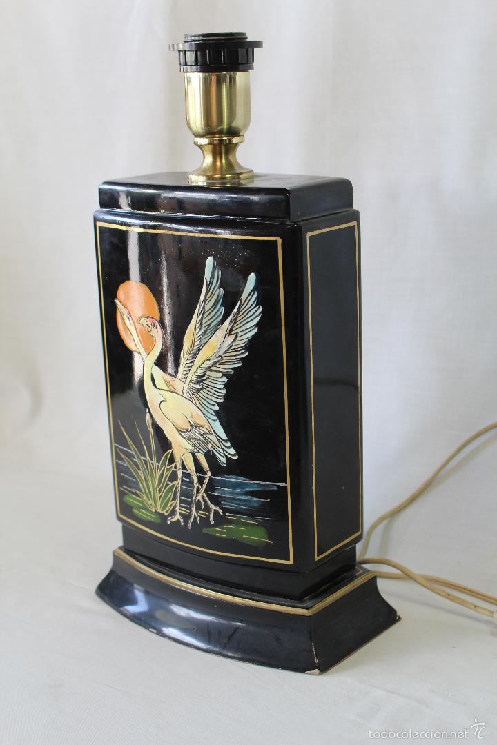 Vintage: pie de lampara en ceramica - Foto 5 - 58286709