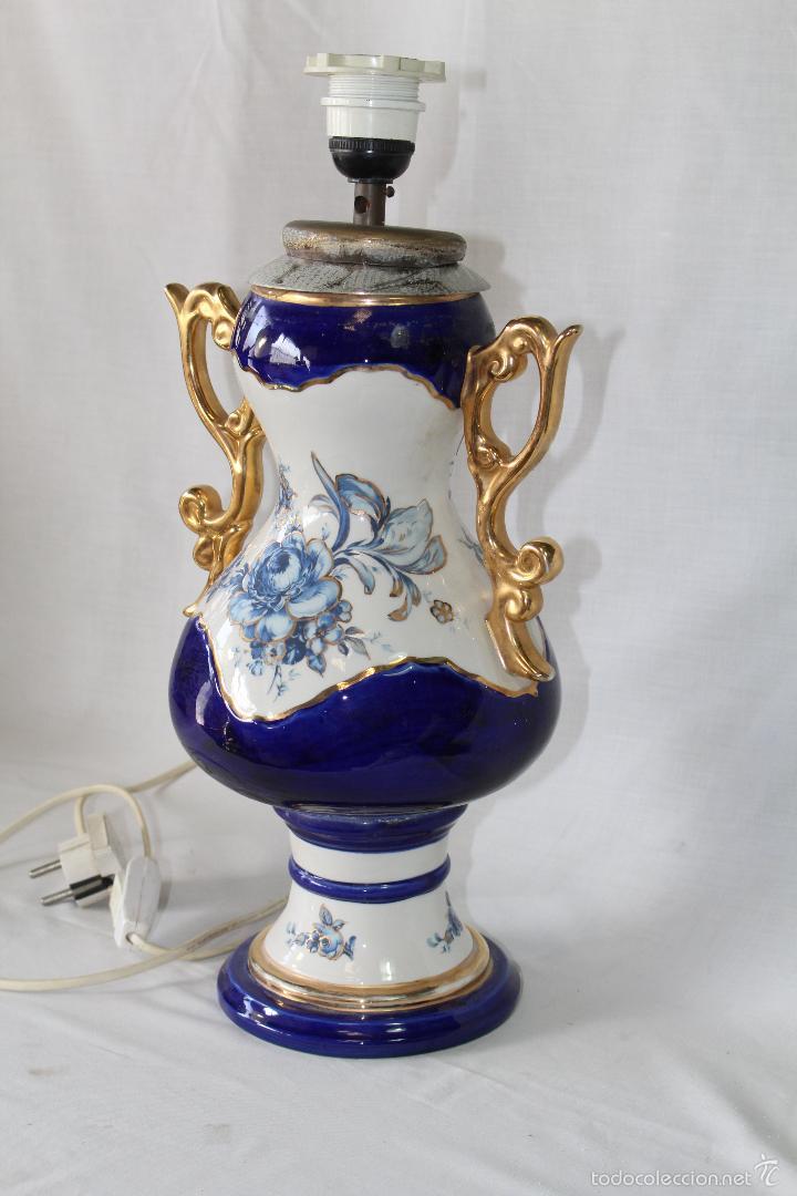 Vintage: pie de lampara en ceramica - Foto 6 - 58304371