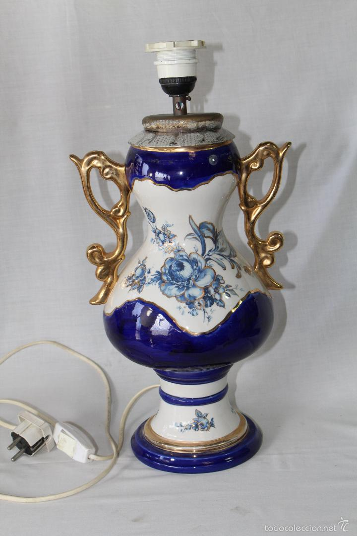 Vintage: pie de lampara en ceramica - Foto 7 - 58304371